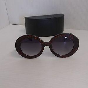 Prada woman sunglasses SPR 27QS PDN-2AD1 round